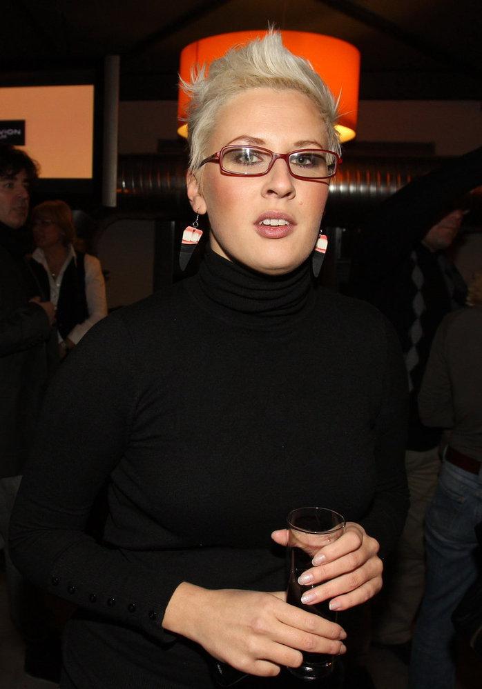 Dcera Karla Černocha zpěvačka Tereza Černochová.