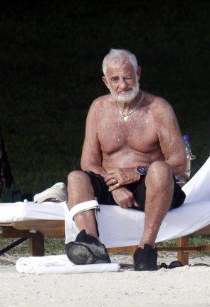 Jean Paul Belmondo je pořád velice zachovalý muž.