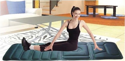 Mikroprocesorová masážní podložka s magnetickou terapií TL-2010B. Masážní podložka je určena pro každého, kdo potřebuje po náročném dni ulevit unavenému tělu, odstranit bolesti zad či zbavit se stresu