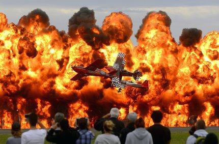 I takhle úchvatně může vypadat letecká show.