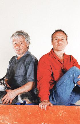 Dvojčata Kája a Jan Saudkovi. Podle Johany mívali 4 skvělý vztah.