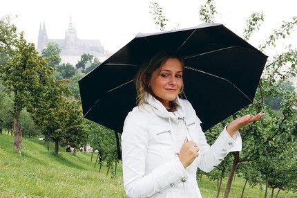 Deštníky stále s sebou!