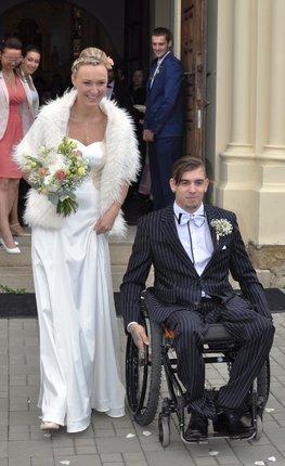 Letos v září se Iveta s Lukášem stali manželi.
