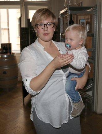 Tereza se před pár dny objevila ve společnosti a vzala s sebou i svoji dceru Lauru.