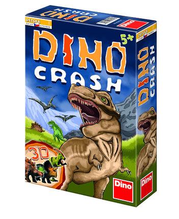 Útěk před sopkou a dinosaury. Skvělá hra na procvičení kombinačních a taktických schopností Dino Crash, Dino Toys, 379 Kč.