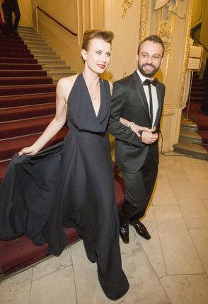 Jitka Schneiderová s kolegou ze StarDance Markem Dědíkem.