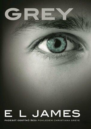 Padesát odstínů šedi pohledem samotného Christiana Greye – Grey, E L Jamesová, www.albatrosmedia.cz, 367 Kč.