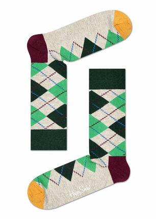 Vyšší ponožky v originálním provedení, Happy Socks, www.different.cz, pár 219 Kč.