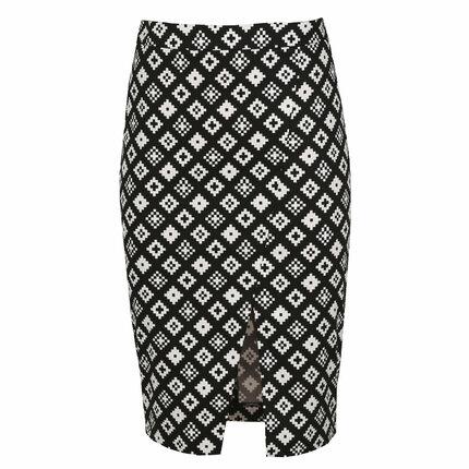 Způsob 1: Pouzdrová sukně, Mohito, 599  Kč.