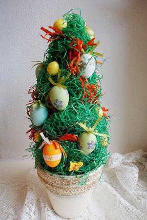 Vyrobte si velikonoční stromek.