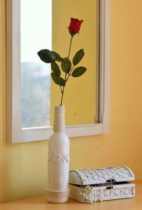Výsledkem vašeho tvoření bude elegantní váza.