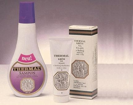 Vlasová kúra Thermal (2 ks krému Thermal a 1 ks šamponu Thermal), www.thermal-sens.cz, 990 Kč.