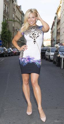Modelka, herečka a moderátorka Eva Perkausová si díky své dokonalé postavě může dovolit i odvážnější modely.