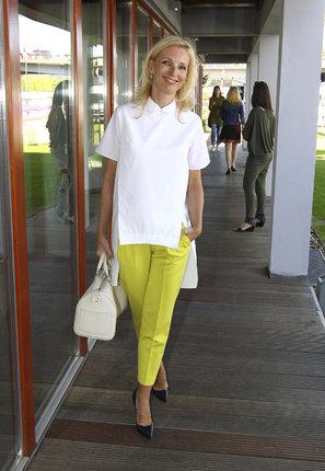 Také Petra Paroubková si oblíbila krátké kalhoty!