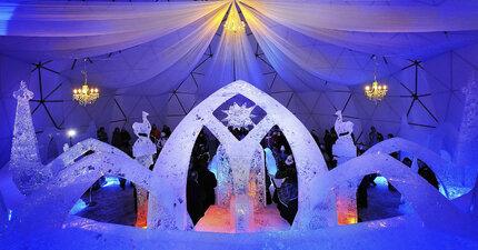 Ledový chrám na Hrebienku můžete navštívit až do března.