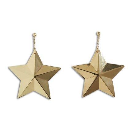Náušnice hvězdy, Lindex, 129 Kč.