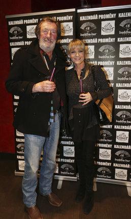 Chantal s bývalým manželem Bolkem Polívkou.