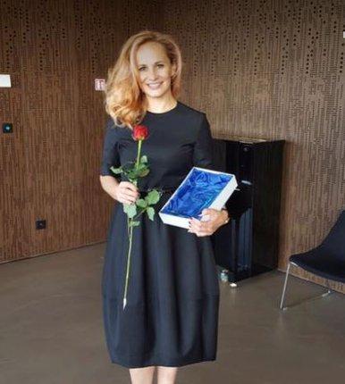 Monika převzala cenu za nejoblíbenější muzikálovou herečku.
