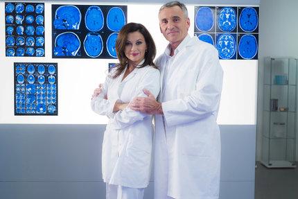 Dana Morávková a Jan Čenský v seriálu Ordinace