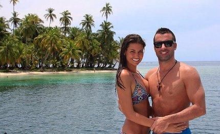 Lucie s přítelem Gabrielem