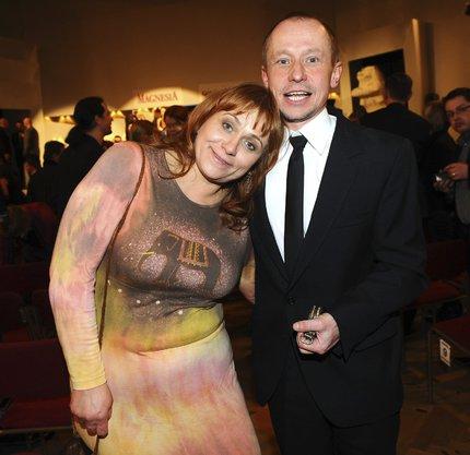 Pavla Tomicová s manželem