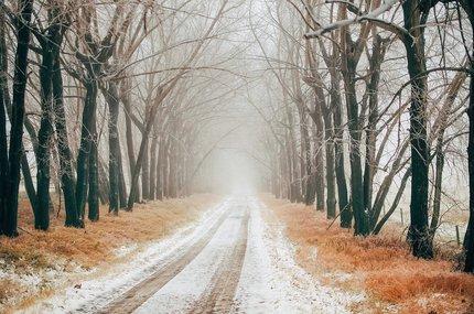 Řízení v zimě