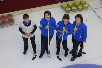 Věra Kohoutková se svým Curligovým týmem