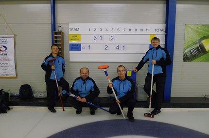 Jan Kohoutek se svým curligovým týmem