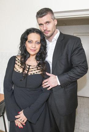 Lucie Bílá s bývalým partnerem