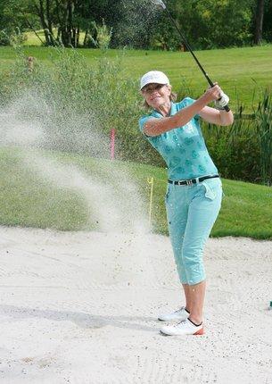 Jana Švandová hraje golf