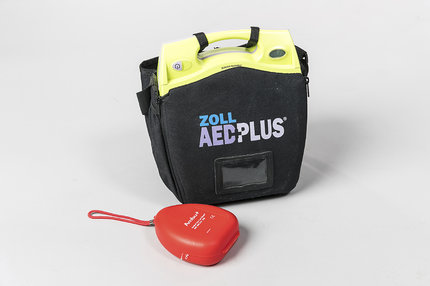 AED v obalu