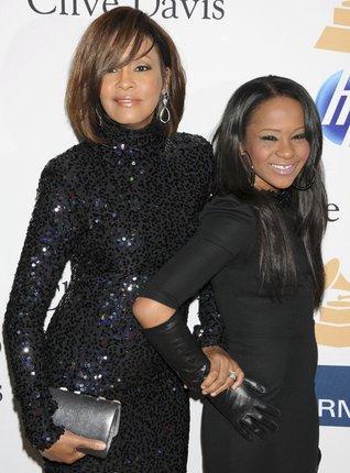 Whitney Houston se svou dcerou