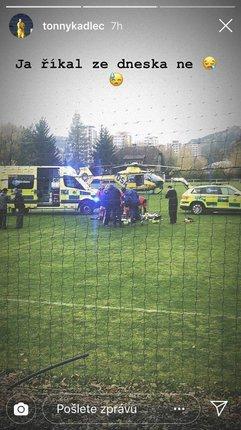 Pro sudího Zdeňka Nádeníka přiletěla helikoptéra přímo na hřiště, na záchranu jeho života to bohužel nestačilo