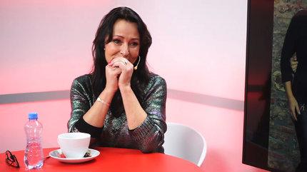 Heidi Janků ve studiu Blesku přemohly emoce.
