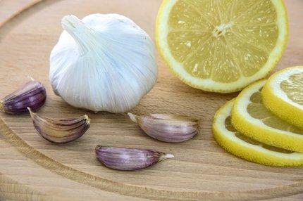 Citron a česnek