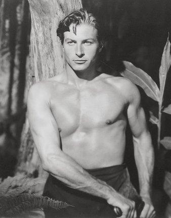 Lex Bareker jako Tarzan - 1953