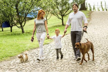 Romana s rodinou
