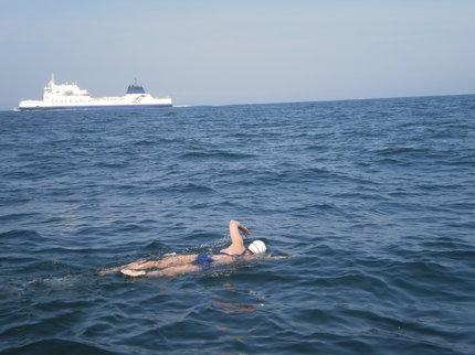 Přeplavala la Manche