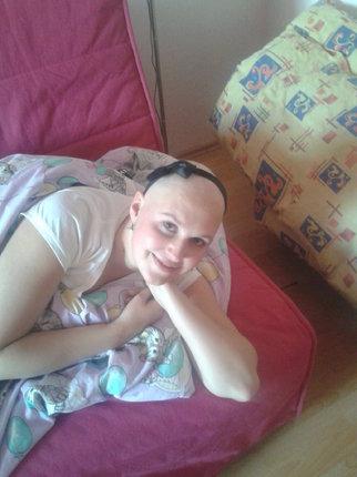 Nikola během chemoterapie