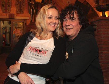 Linda Finková s Richardem Genzerem