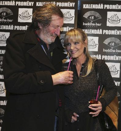 S bývalo ženou Chantal