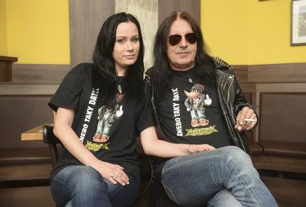 S manželkou Joannou