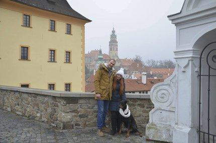 Irina s manželem