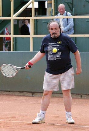 Petr Novotný na tenise
