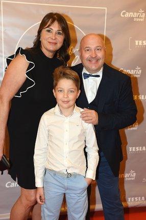 S manželkou a vnukem