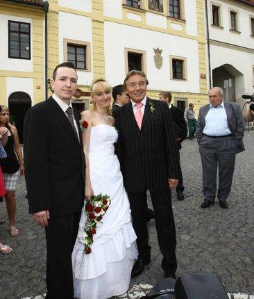 Lucie - svatební fot