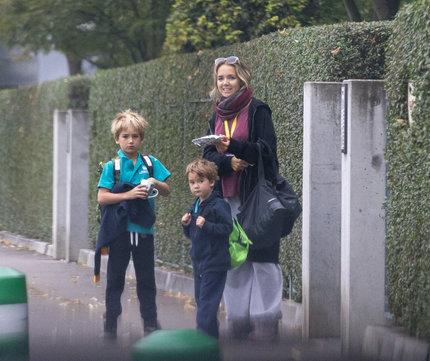 Lucie Vondráčková s dětmi