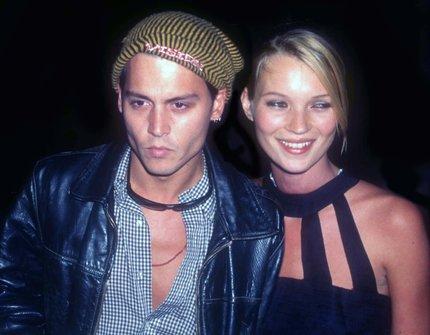 Kate Moss a Johny Depp