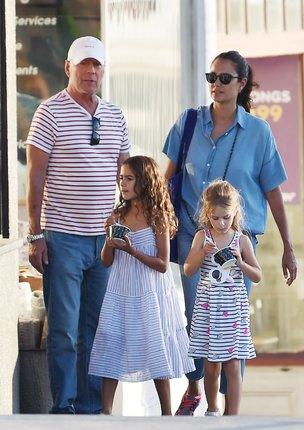 Willis s rodinou