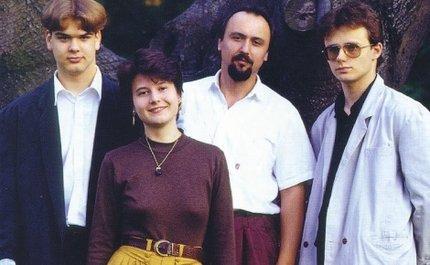 Ladislav jako člen kapely Příbuzní